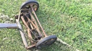 Reel Mower / Vintage American Mower Company Reel Mower