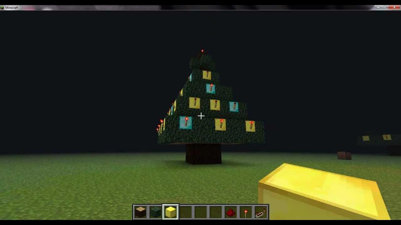 How To Make Christmas Lights On Minecraft