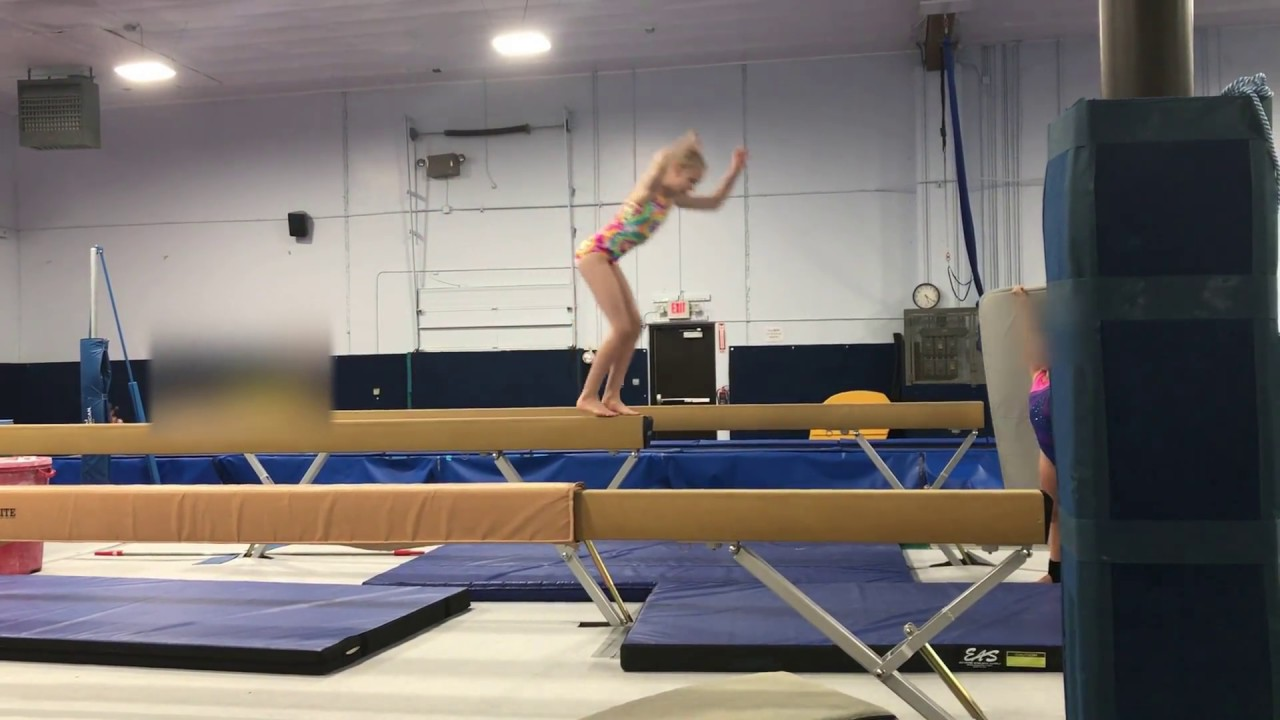 My First Try Front Tuck Off High Beam