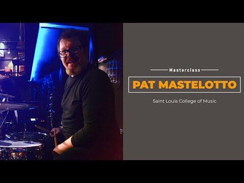 Pat Mastelotto - live Masterclass - l'asino che vola 2013