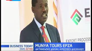 CS Munya tours EPZA in effort to improve investment