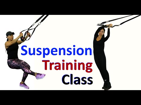 FULL BODY: Traditional & Long-Bar Suspension Training Workout!