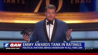Emmy Awards Tank in Ratings, Political Rhetoric Brings Viewership to All-Time Low
