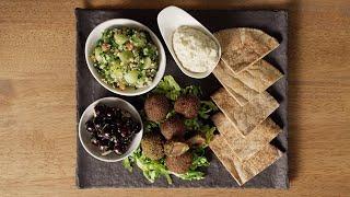 Vegan Grape Mezze Platter