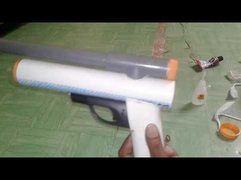 How to make a gun from paralon / pvc material (watch until it's finished)