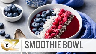 How To Make a Healthy Smoothie Bowl for the 4th of July