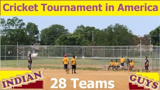 Cricket Tournament in USA-2019 | Indian Guys playing Cricket