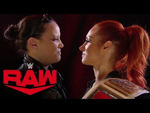 Shayna Baszler interrupts Becky Lynch's interview: Raw, Nov. 4, 2019