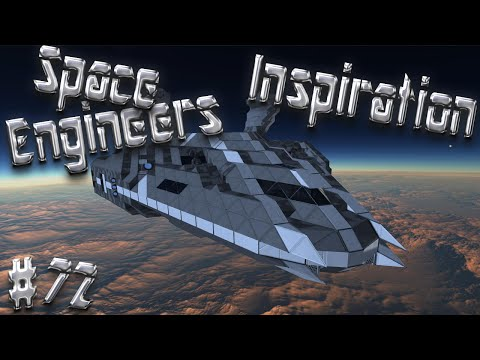 Space Engineers Inspiration - Episode 72: A-type Alpha&Omega, Avialae Drop Ship, & Leviathan