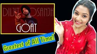 G.O.A.T.  DILJIT DOSANJH Reaction | Latest Punjabi Songs 2020 | The Mosh Box