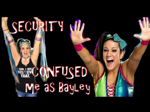 Security confused me as Bayley (Daily #981)