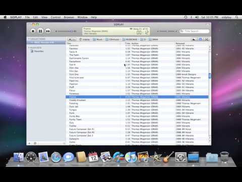 SIDPLAY - the premier C64 music player for the Mac