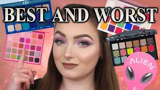 RANKING MY JEFFREE STAR COSMETICS PALETTES