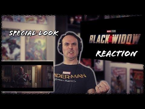 Marvel Studios' Black Widow | Special Look REACTION