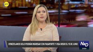 Venezolanos solo podrán ingresar con pasaporte y visa humanitaria