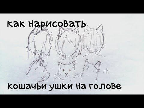 Как нарисовать неко