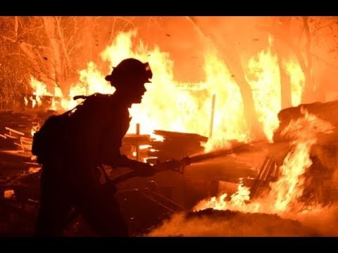 Breaking California Wildfires Acts of Nature Manmade Accident or Deliberate? 250k Evacuated 11/10/18