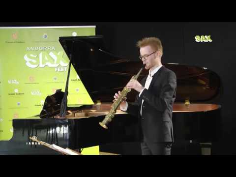 WOUTER VERSAVEL - 1st ROUND - V ANDORRA INTERNATIONAL SAXOPHONE COMPETITION 2018