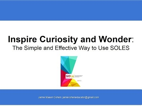 The Simple and Effective Way to Use SOLEs (Self-Organized Learning Environments)