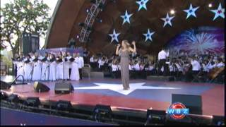 "Ayla Brown Sings ""Pride Of America"" with the Boston Pops on July 4th"