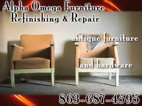 Alpha Omega Furniture Refinishing Repair Lakeland Fl