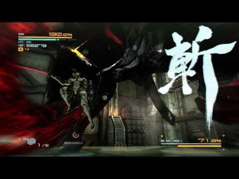 Metal Gear Rising: Revengeance - Jetstream Sam vs. Metal Gear Ray (No Damage) (S Rank)