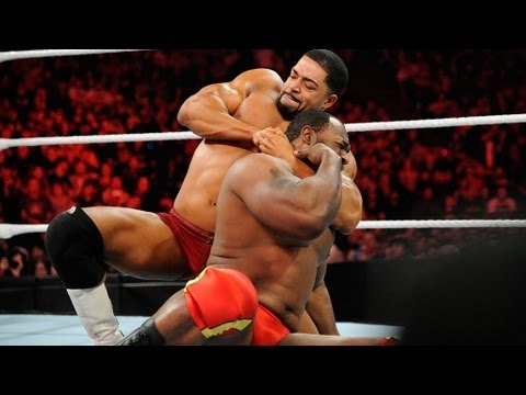 Raw: Ezekiel Jackson vs. David Otunga