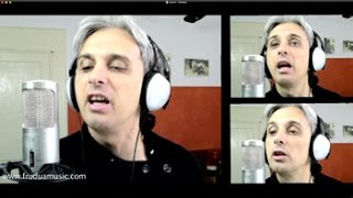 How To Sing You Can't Do That Beatles cover Vocal Harmony Lesson Tutorial
