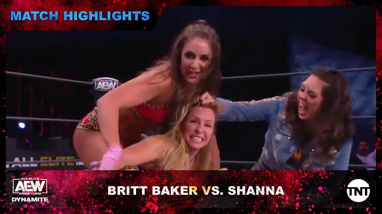 Britt Baker Defeats Shanna on AEW Dynamite