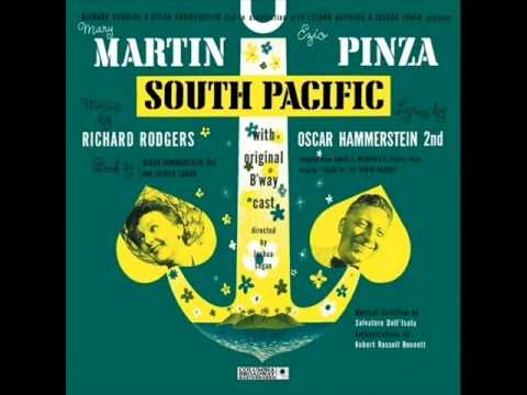 A Cock Eyed Optimist from South Pacific-1949 Score on Columbia.