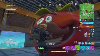 Over The Wall Cheat!!!! Fortnite Battle Royale Food Fight Deep Fried