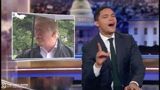 "DONALD TRUMP ASKS ""WHO CARES?"" ABOUT ELIZABETH WARRENS DNA; TREVOR NOAH ANSWERS"