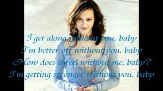 Leighton Meester - A little bit stronger Karaoke