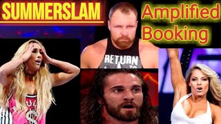 Video WWE SummerSlam 2018: Trish Stratus & Dean Ambrose Shock The Pro Wrestling World! | AMPLIFIED BOOKING download MP3, 3GP, MP4, WEBM, AVI, FLV Agustus 2018