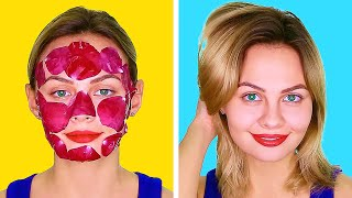 SECRET BEAUTY HACKS FOR SMART GIRLS    5-Minute Tips To Look Awesome Every Day!
