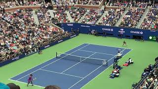 Bianca Andreescu wins the 2019 US Open- match point