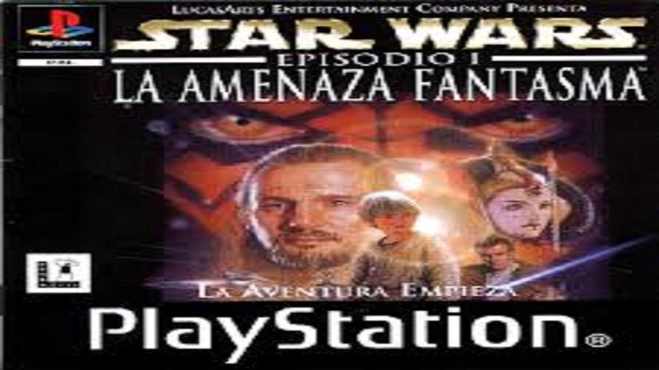 star wars episodio 1 la amenaza fantasma psx-psp