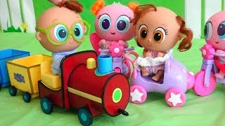 Kinder Joy Surprise Eggs ! Toys and Dolls Fun Opening Surprises with Distroller Babies & Toddlers
