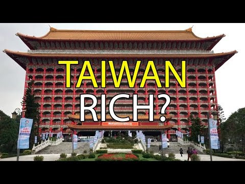 How RICH is Taiwan?