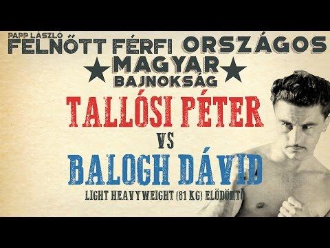 PAPP LÁSZLÓ - Felnőtt Férfi Ökölvívó Bajnokság - Elődöntő 81kg - Kovács Pál VS. Tóth Ádám
