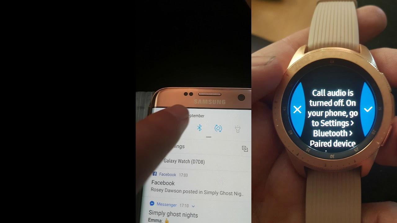 Samsung Galaxy Watch problem sorted!