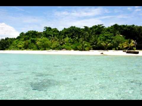 Arriving by speedboat on Sangalaki Island, Kalimantan, Indonesia