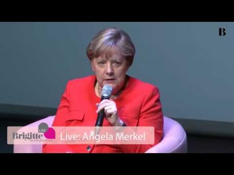Angela Merkel im Brigitte Interview