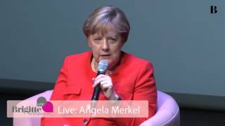 Angela Merkel im Brigitte Interview