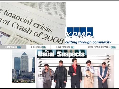 KPMG Global theft with shares and directors' IDs in the trillions
