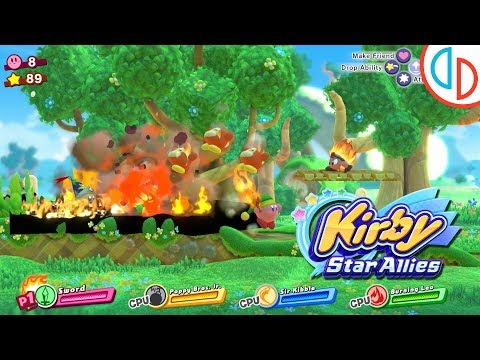 Kirby Star Allies - yuzu Emulator 110 [1080p] - Nintendo Switch - 동영상