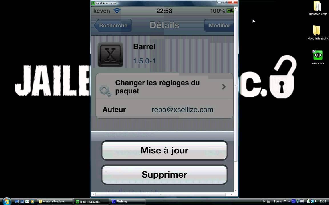 Cydia application en francais