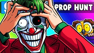 Gmod Prop Hunt Funny Moments - This Joker Map Drove Terroriser Mad! (Garry's Mod)