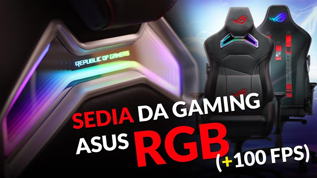 Chariot RGB Gaming Chair, la migliore sedia gaming RGB al ...