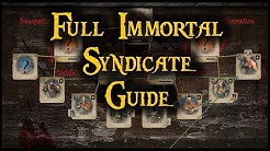 Full Immortal Syndicate Guide - Manipulate The Syndicate For Max Profit | Behind Eyes Gaming